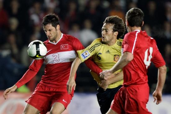 Turkey Spain World Cup Soccer